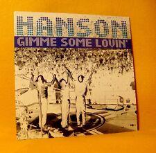 Cardsleeve Single CD HANSON Gimme Some Lovin' 2TR 1998 Soft Rock