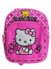 """Hello Kitty with yellow bear Toddler Backpack 10"""" BackPack for Kids - BRAND NEW"""