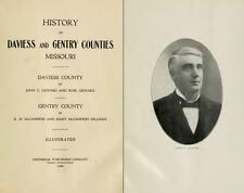 1922 DAVIESS & GENTRY County Missouri MO, History and Genealogy Ancestry DVD B23