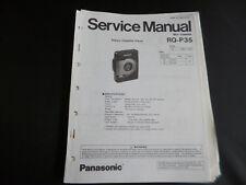 Original Service Manual Panasonic RQ-P35
