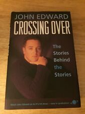 John Edward Signed Book Crossing Over : The Stories Behind the Stories 1st HC