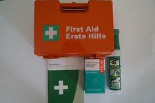Betriebsverbandkasten Verbandkoffer DIN 13157 C Erste Hilfe + Augenspülung SET