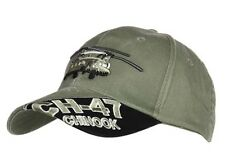 US Army Chinook CH-47 Heli Helicopter Baseball Cap USMC Seals Navy Marines WK2