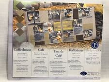 Creative Memories Mounting Paper COFFEEHOUSE 10 x 12 MOCHA 6 Colors 12 Sheets