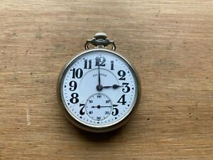 Illinois Bunn Special 16s 21 Jewel  Sixty Hour Railroad Grade Pocket Watch