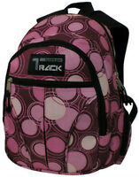 PINK  Circles Backpack School Pack Bag NEW  282SPB Hiking Hike Book Small