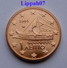 Griekenland / Greece 1 cent 2005 UNC