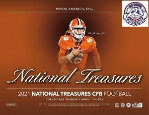 Andrew Luck 2021 National Treasures Collegiate Case 4Box Break