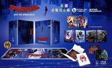Blufans Spiderman Into the Spiderverse 4K 3D 2D bluray WEA steelbook 1click set