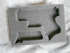 CUSTOM Foam Insert for GLOCK 26 pistol fits Apache 1800 case, Ships FREE
