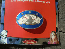 NUOVO Mundia Fermaglio capelli La carica dei 101 Disney silver coated