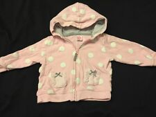 Carters Baby Girl Hooded Sweatshirt Size 9 Months