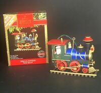 HALLMARK Keepsake Ornament 1991 Special Edition Santa Special Train Magic Sound