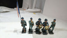 g Durso Composition French WWI Marching Band Flag Bearer Soldiers