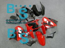Red black ABS Fairing Bodywork Plastic Kit Kawasaki Ninja ZX-9R 2000-2001 007 D6