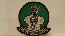 Navy Strike Fighter Squadron 27 Color Patch 4 x 4 inches