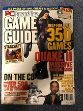 Vintage PC POWERPLAY Magazine with a CD - Game Guide - First issue