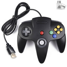 USB N64 Controller Joystick Nintendo 64 Gamepad for PC Mac Laptop Computer Games