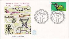 Enveloppe 1er jour FDC n°1140 - 1979 : Ecole Centrale des Arts & Manufactures