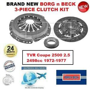 Tout Neuf Borg N Beck 3-PIECE Kit Embrayage pour Tvr Coupé 2500 2.5 2498cc