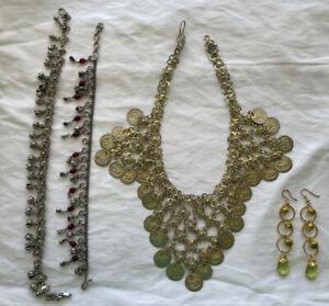 Belly Dance Jewelry Lot