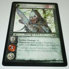 Lawrence Makoare SIGNED Lurtz Lord of the Rings Oversized Card Decipher LotR 5x7
