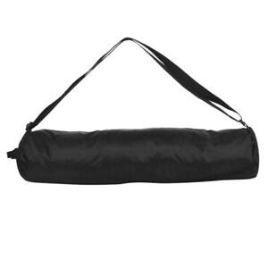USA Pro Black Yoga Mat Bag Zip Shoulder New With Tags
