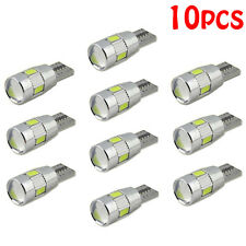 NEW 10pcs T10 501 194 W5W 5630 LED Car 6 SMD HID Canbus Error Free Wedge Light S