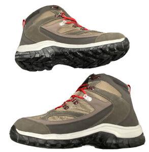 Mens Quechua Decathlon Waterproof Walking Boots Size 9.5 44 NOVADRY Hike Trek