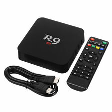 R9 4K 1080P Android 5.1 Quad-Core Wifi TV Movies Addon Apps Media Set Top Box