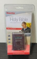 Franklin Kjv-505 - King James New & Old Bible Mp3 Audio Player - New Sealed