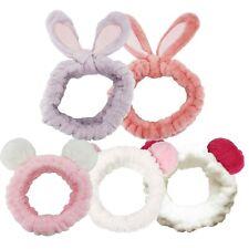 (US SHIP) 5pcs set Spa Bath Shower Makeup Wash Face Cosmetic Headband Hair Band