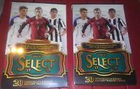 2017-18 Panini Select Soccer Hanger Box lot  3 Checkerboard & 2 Clutch Average