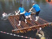 Teamevent Floßbau / Floßfahrt / Holzfloß selber bauen Floß Bausatz