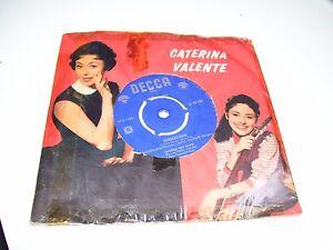 "Caterina Valente - Sonnenschein * RARE DECCA 7"" VINYL  HOLLAND 1960 *"