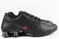 Nike Shox NZ (Mens Size 12) Shoes 378341 017 Black Leather Bred