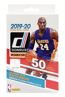 2019-20 panini nba donruss trading cards  50 cards  sealed hanger box
