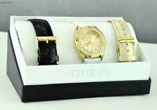 New Stylish 100% Original Watch GUESS 3 in 1 Leather Ladies New U0069L4