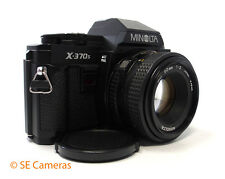 Minolta X-370s 35MM appareil photo reflex + minolta md 50MM F2 lens mint