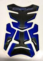 PAD PROTECTION RESERVOIR HONDA CBF 600 1000 650 BLEU LOOK CARBONE