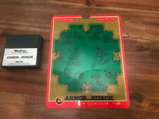 Armor Attack (Vectrex, 1982) Cartridge with OVERLAY. Rare Video game TESTED