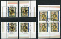 Bund 2949 Eckrand oder Viererblock gestempelt Vollstempel Berlin ETSST BRD 2012