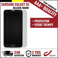 AAA+ LCD SCREEN/SCHERM/ÉCRAN BLACK + SCREEN GUARD FOR SAMSUNG GALAXY S5 I9600
