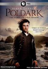Poldark The Complete First Season 1(DVD,2015,3-Disc Set)NEW US PBS Masterpiece