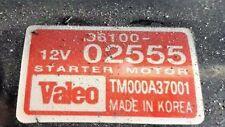 STARTER MOTOR KIA PICANTO 1.1 AUTO 36100-02555  TM000A37001