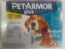 O3 petarmor plus flea tick prevention for medium dogs 23-44 lbs 6 applications