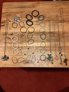 Mixed Costume Jewellery Job Lot Vintage and Modern Necklaces Bracelets