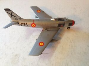 FRANKLIN MINT 1/48 SCALE VERY RARE F86 SABRE SPANISH AIR FORCE