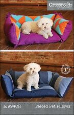 Pattern ~ PIECED PET PILLOWS ~ by Indygo Junction