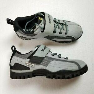 Shimano Cycling Shoes Mens 7 EU 40 Gray Black SH-M140WL Low Top